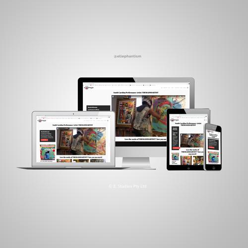 THEMADDDARTIST Website